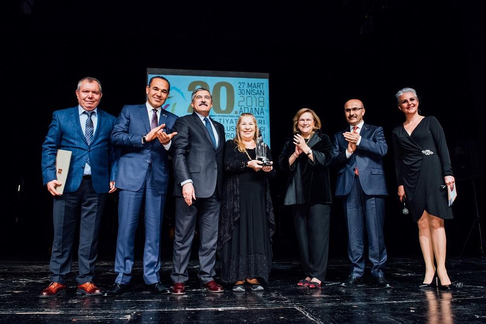 2018 Yılı Sakıp Sabancı Yaşam Boyu Başarı Ödülü'nün sahibi Ayla Algan
